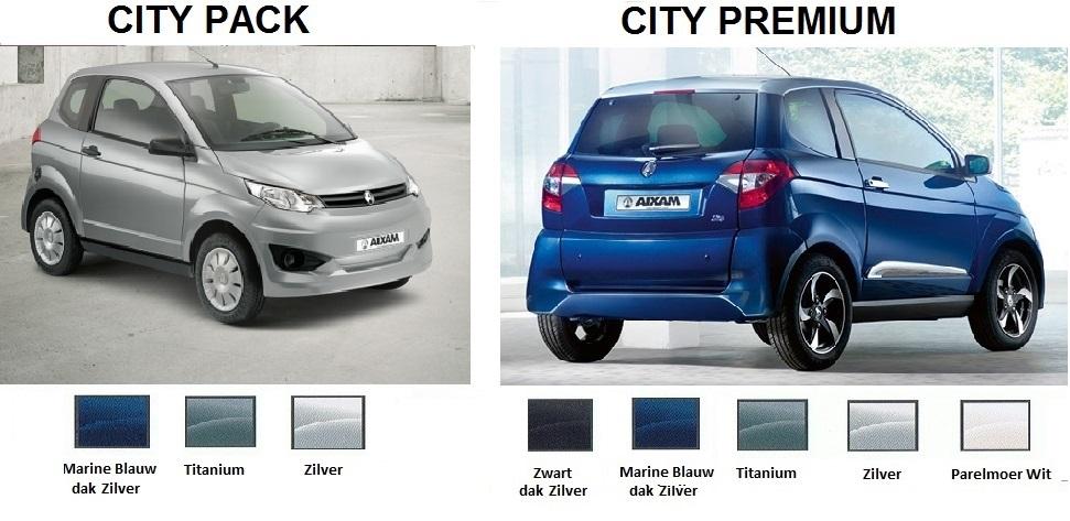 E city uitvoeringen