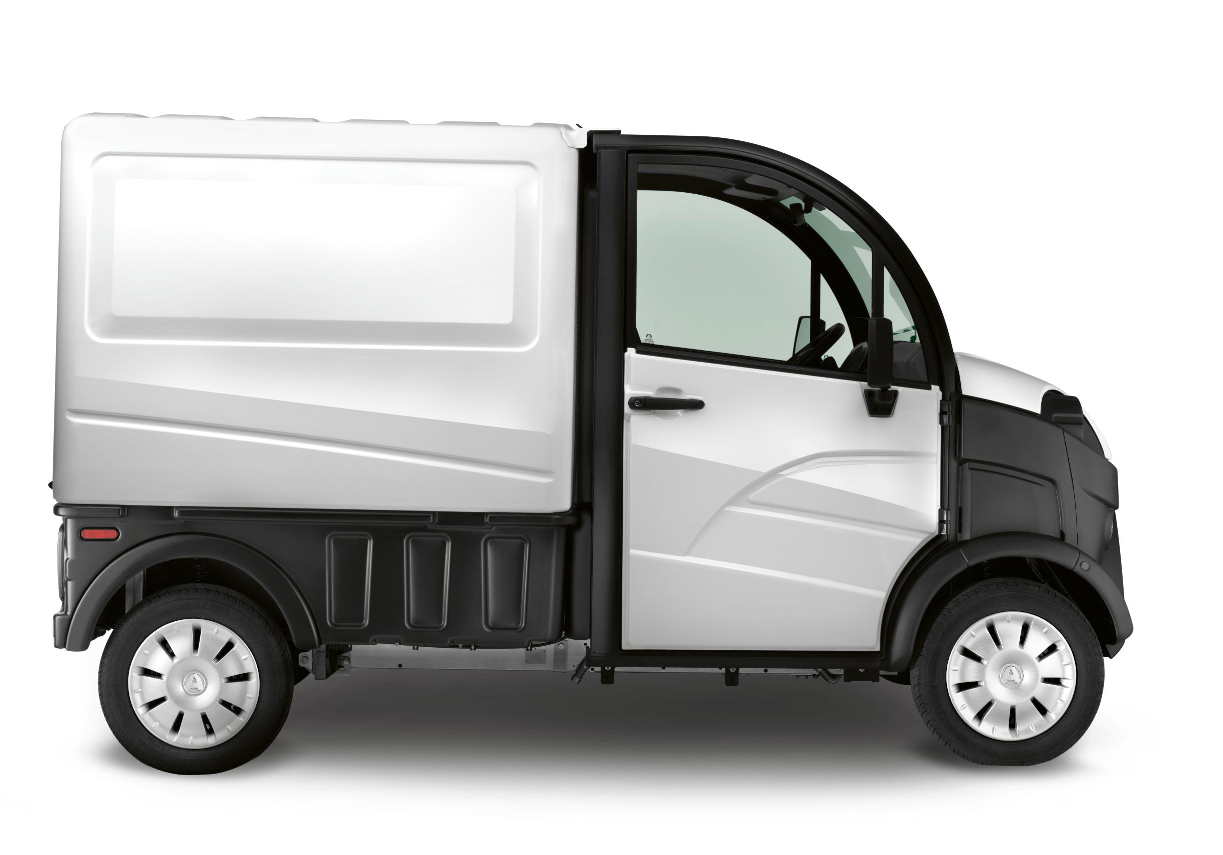 Aixam Pro E truck laadbak