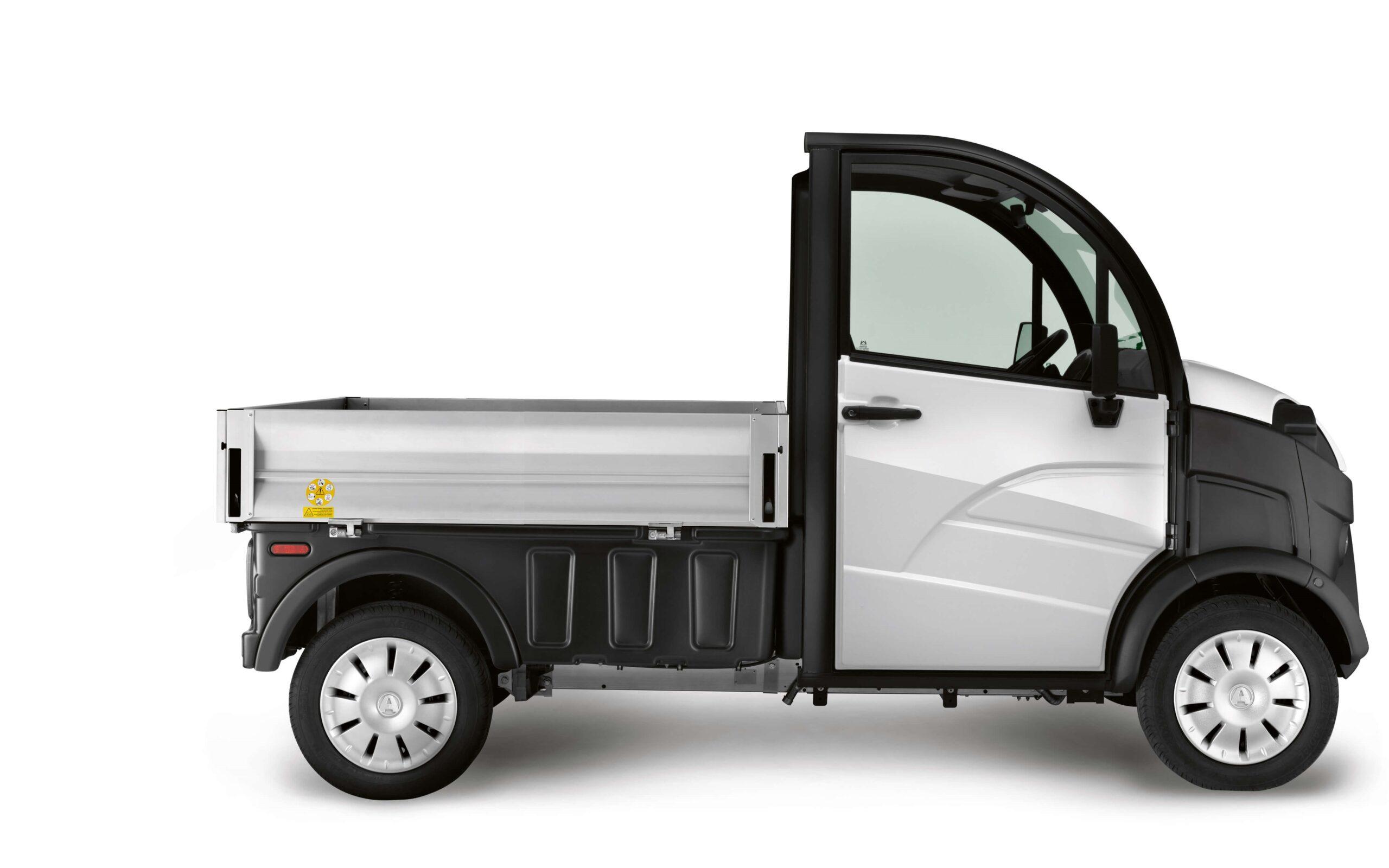 E-truck Aixam Pro laadbak